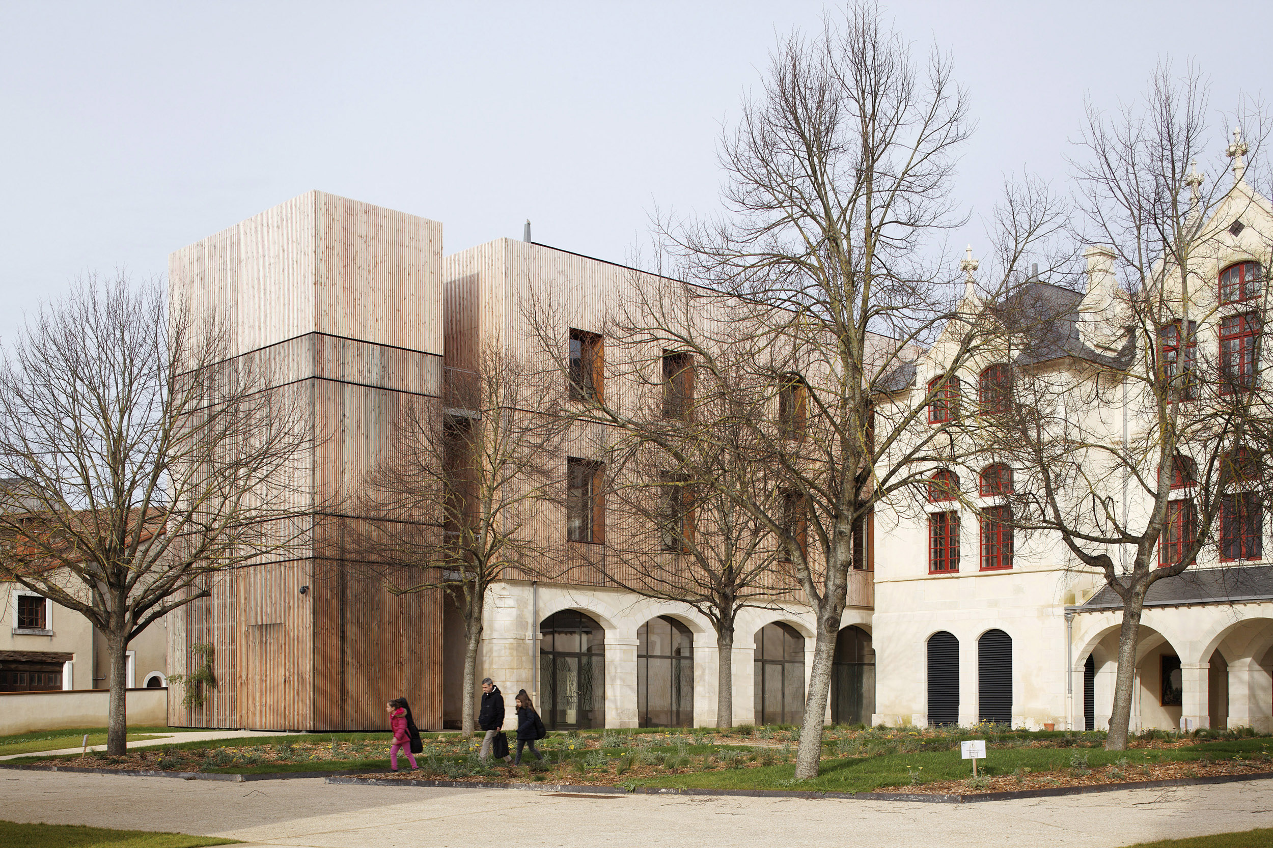 ARC ET SITES | CONSERVATOIRE DE THOUARS | Daniel MOULINET