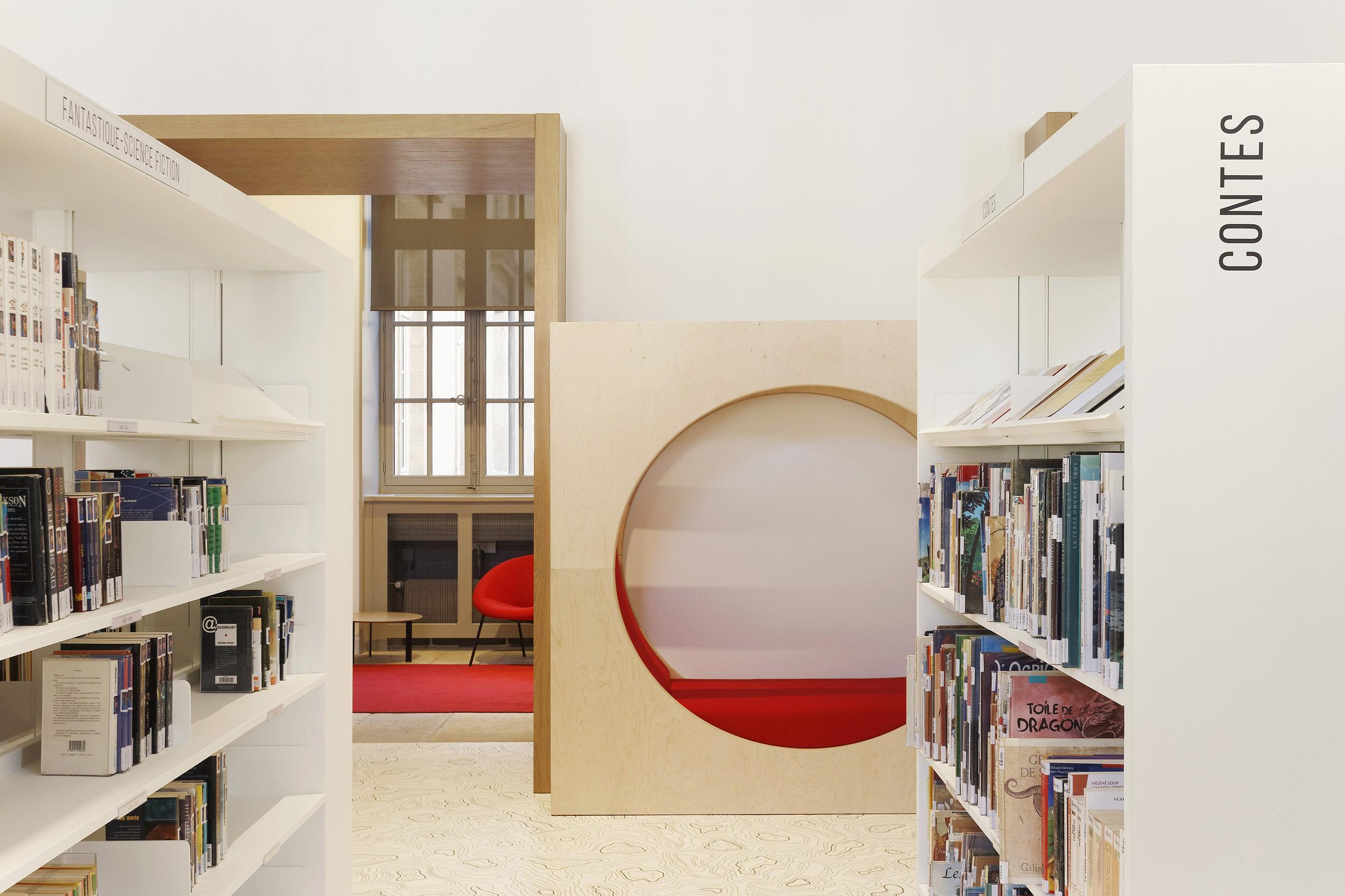 BASALT ARCHITECTURE | MEDIATHEQUE AUTUN | Daniel MOULINET