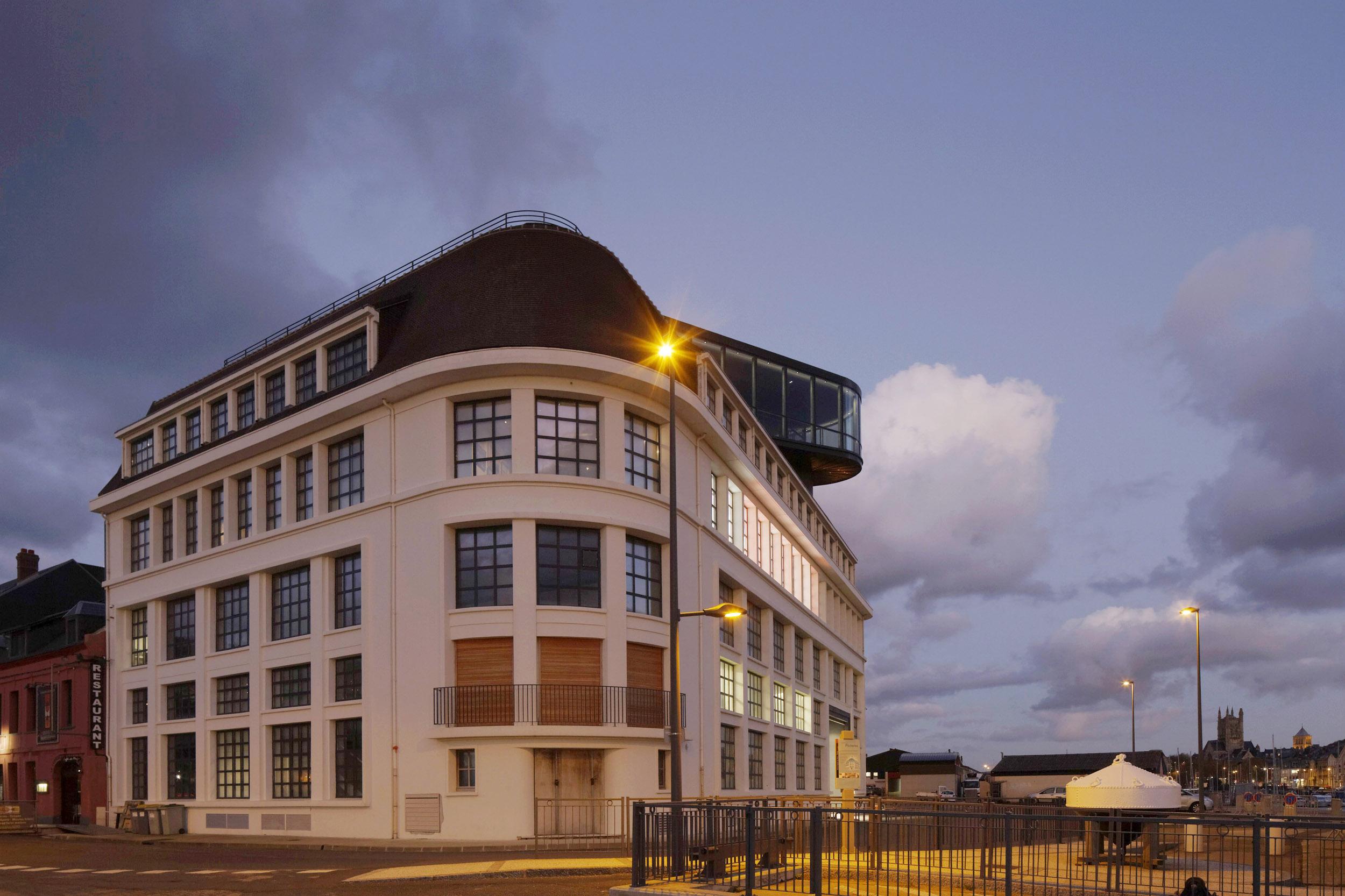 BASALT ARCHITECTURE | MUSEE DES PECHERIES FECAMP