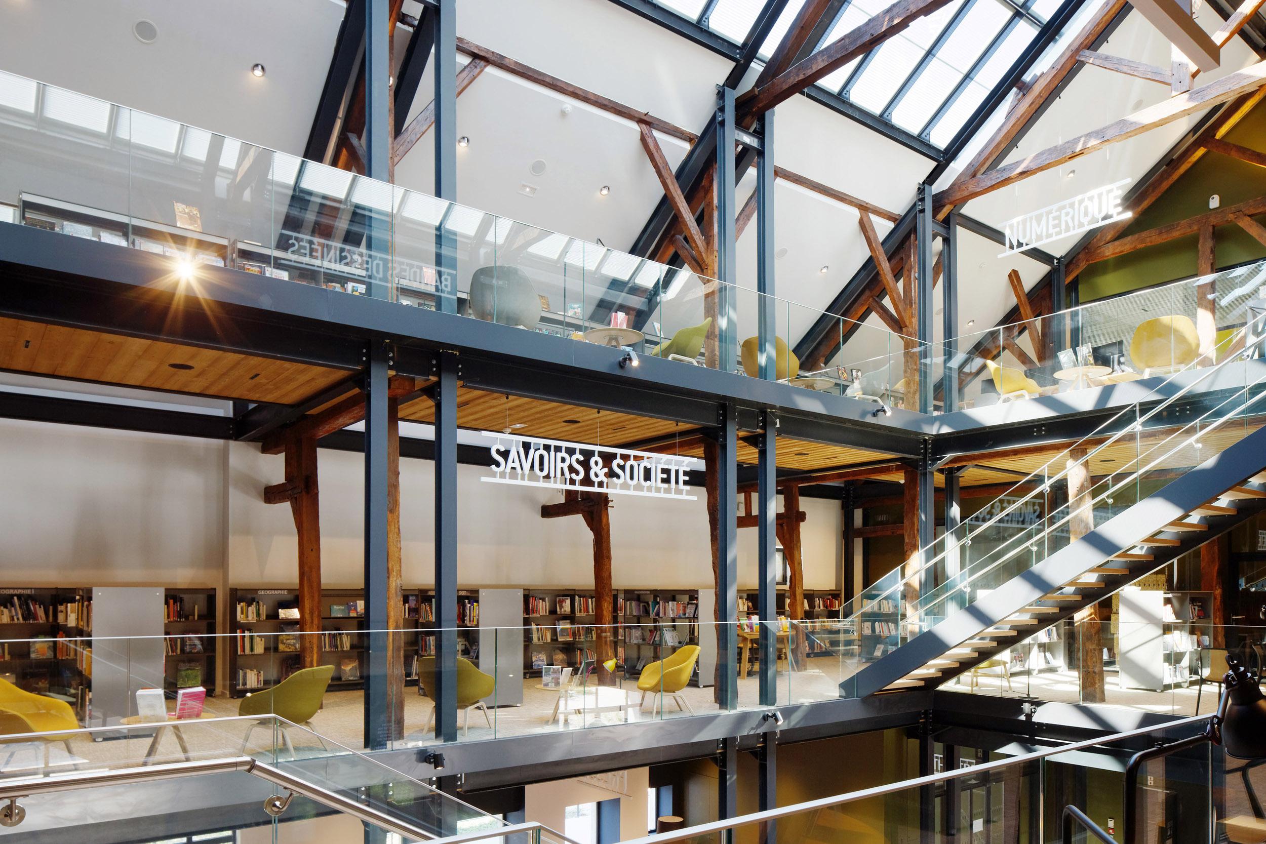 BASALT ARCHITECTURE | MEDIATHEQUE FERNEY-VOLTAIRE  | Daniel MOULINET
