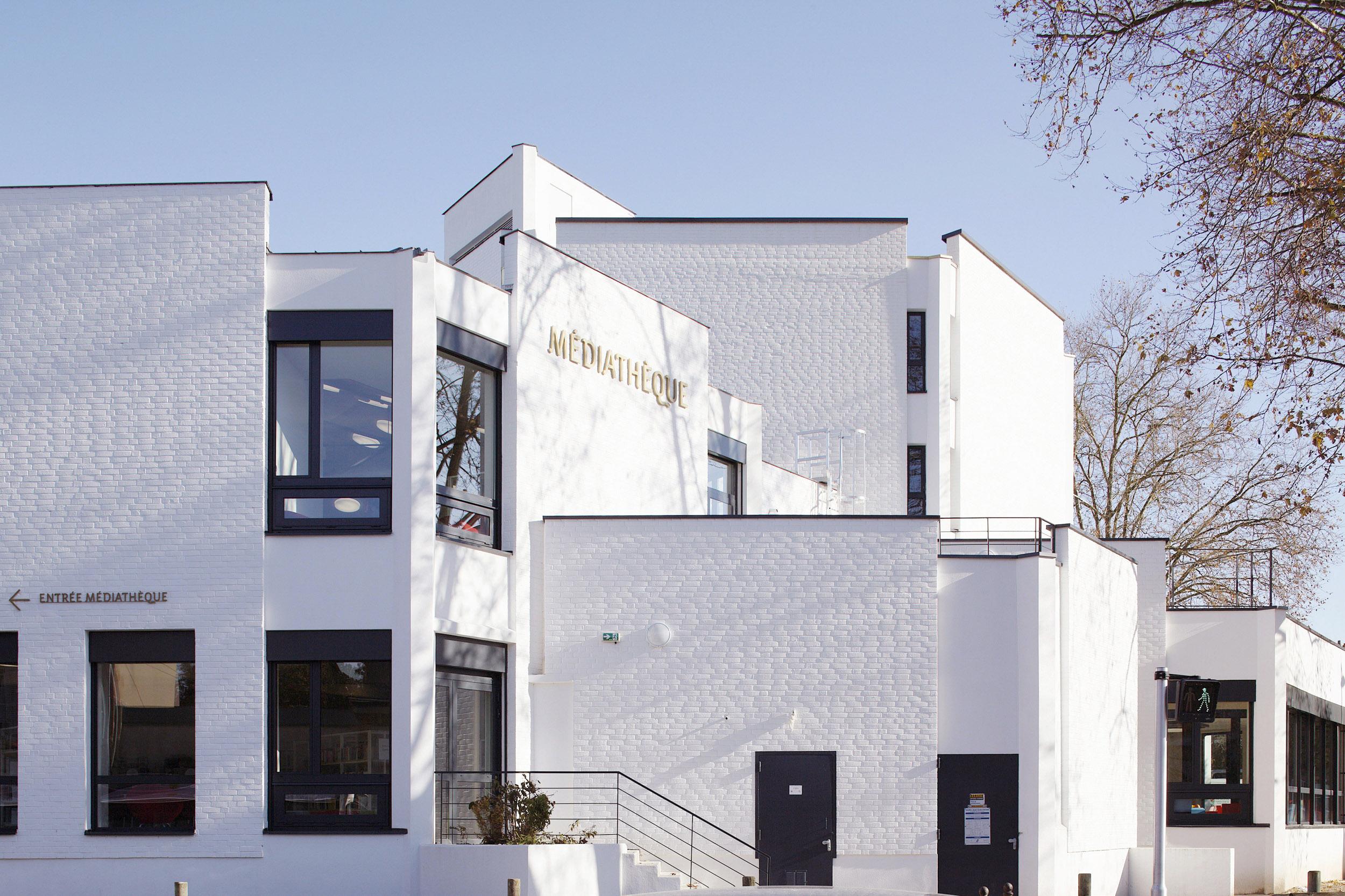 BASALT ARCHITECTURE | MEDIATHEQUE MOULINS | Daniel MOULINET
