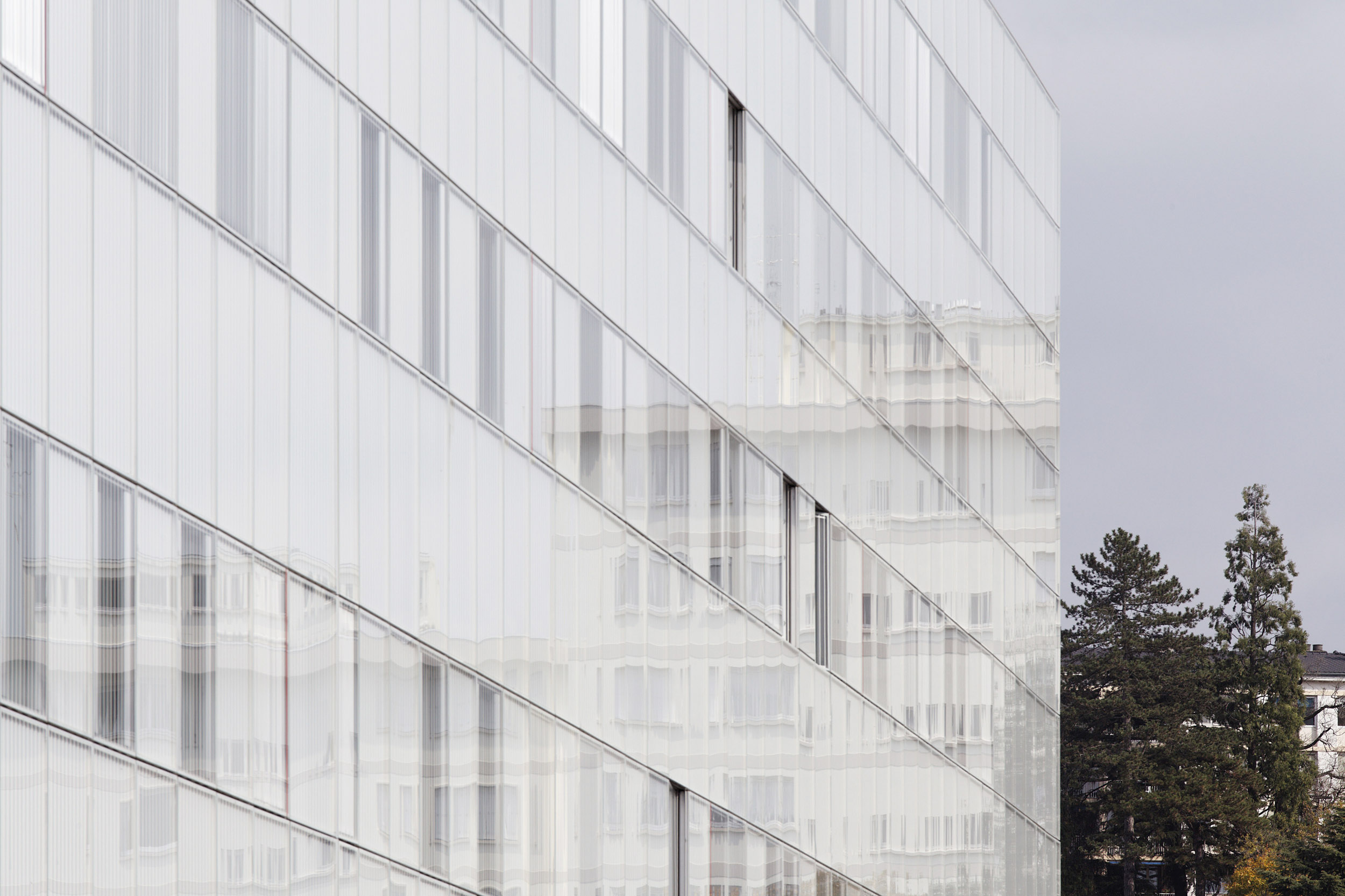 BRUNET SAUNIER ARCHITECTURE | HÔPITAL CHAMBERY | Daniel MOULINET