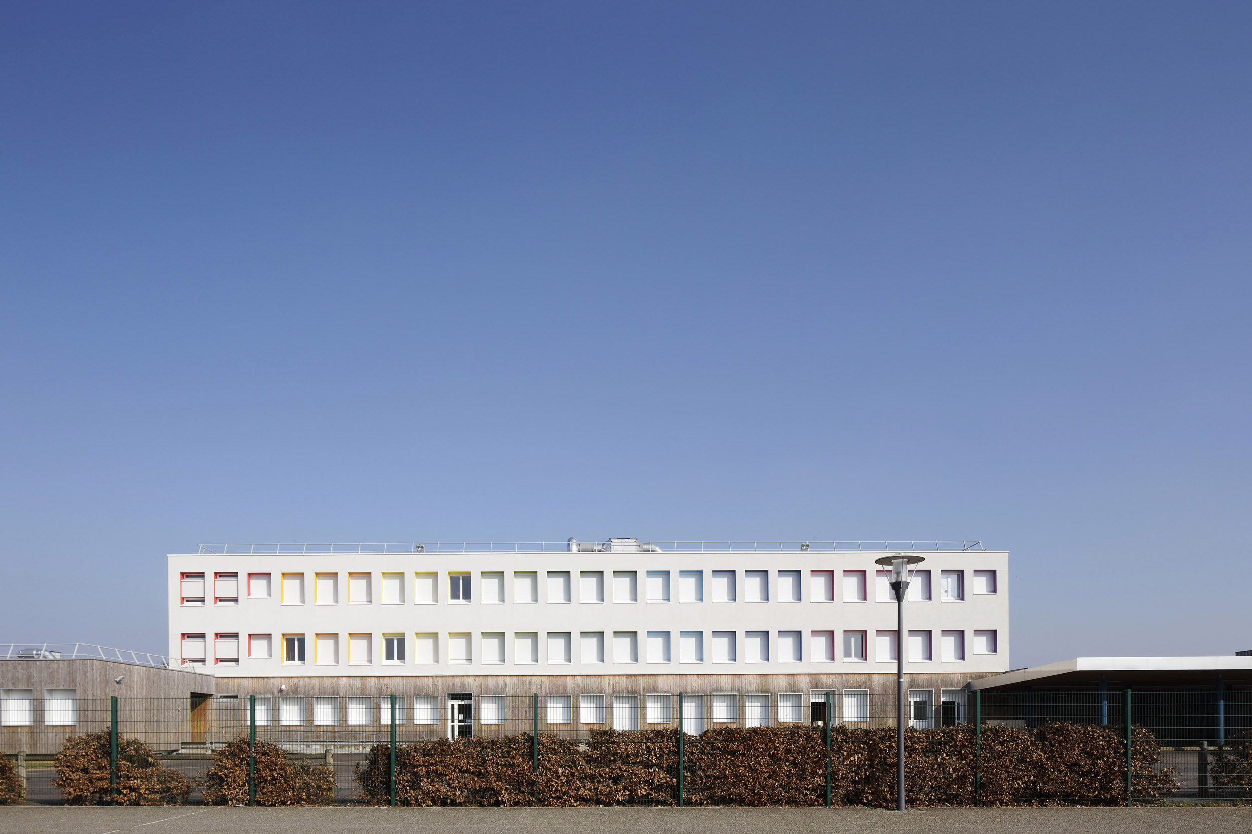DAUCHEZ ARCHITECTES | COLLEGE BRETTEVILLE | Daniel MOULINET