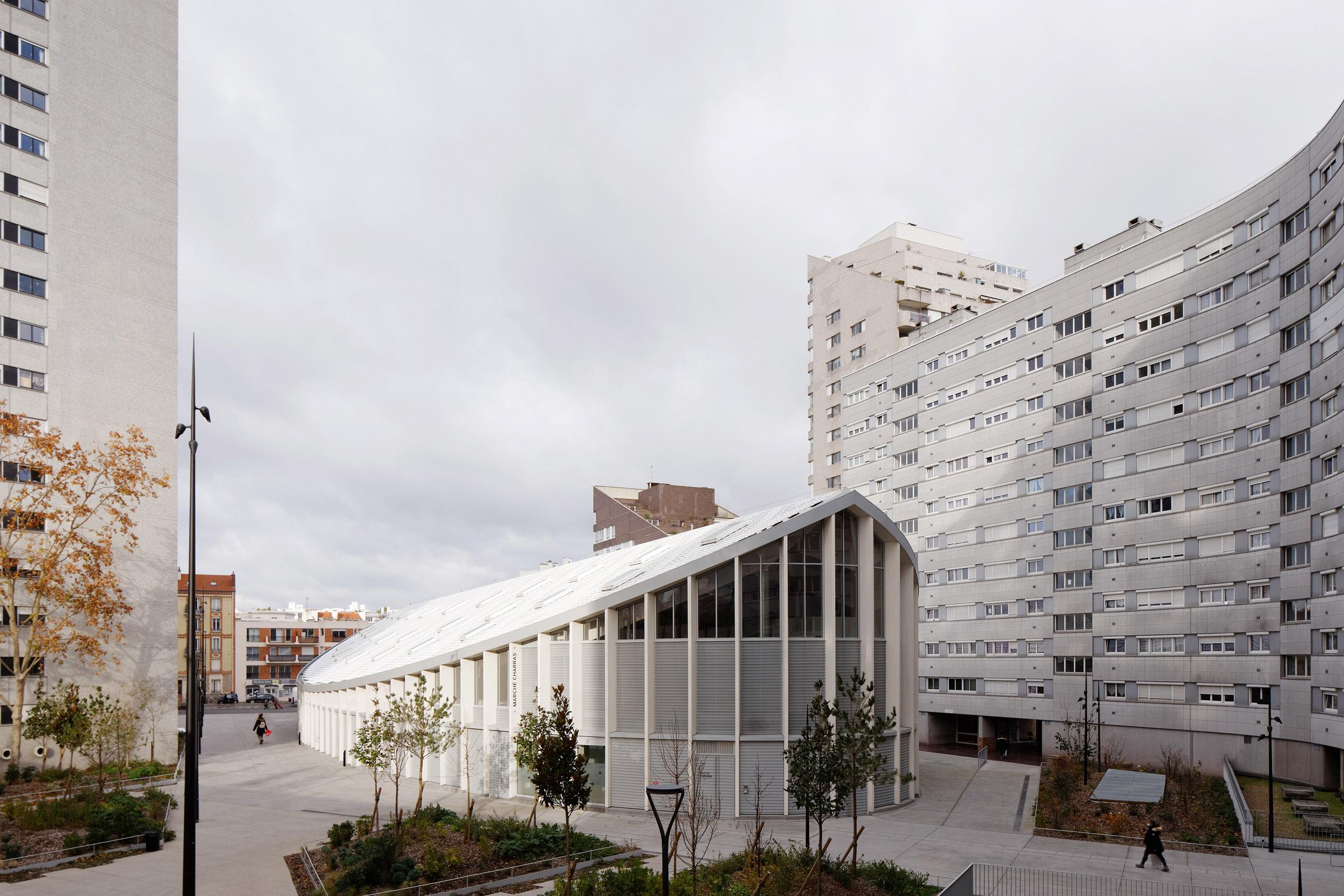 CROIXMARIEBOURDON ARCHITECTES | HALLE DE MARCHÉ COURBEVOIE | Daniel MOULINET