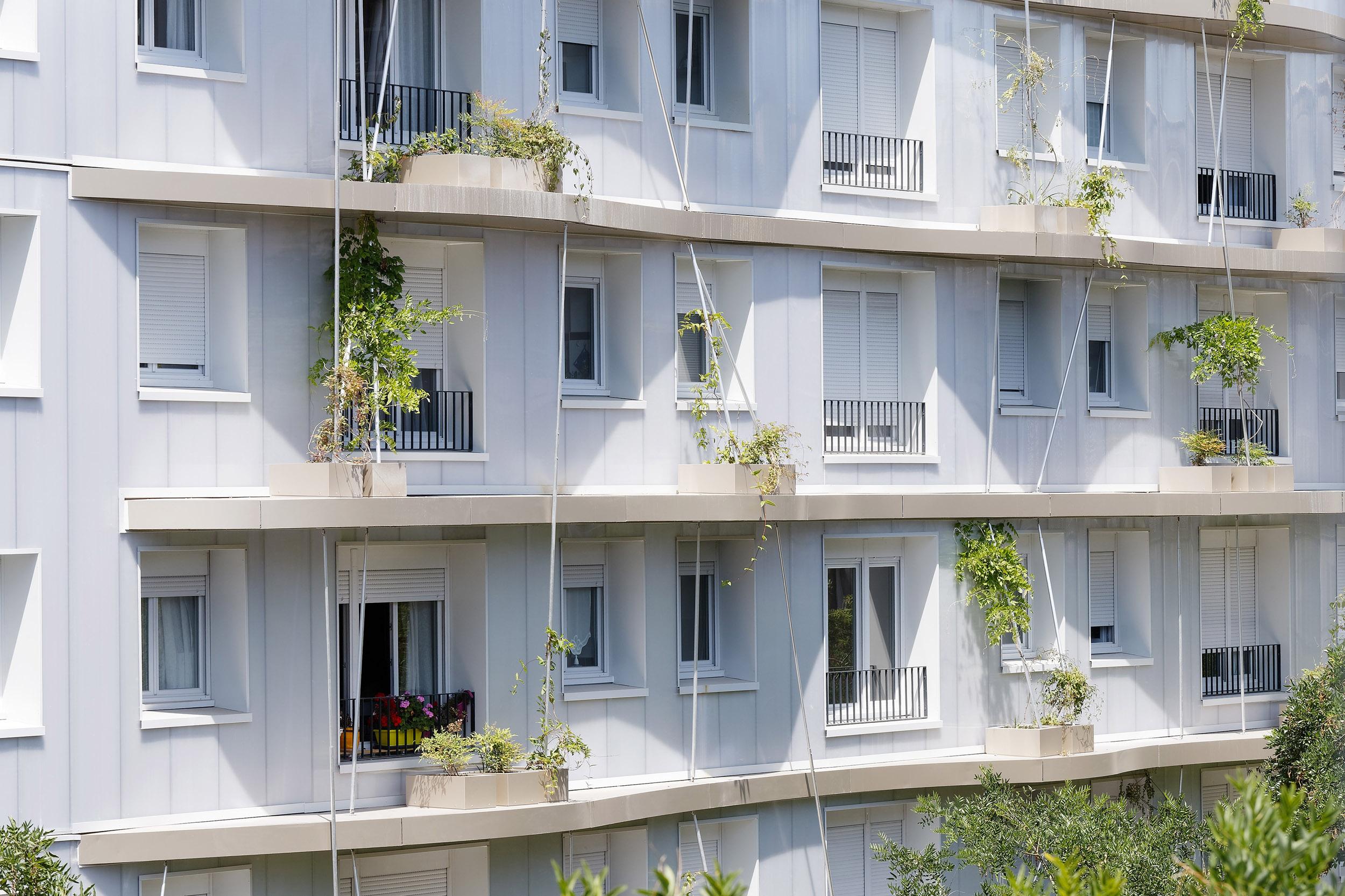LAURENCE BELEDIN ARCHITECTURE | LOGEMENTS TOLBIAC | Daniel MOULINET