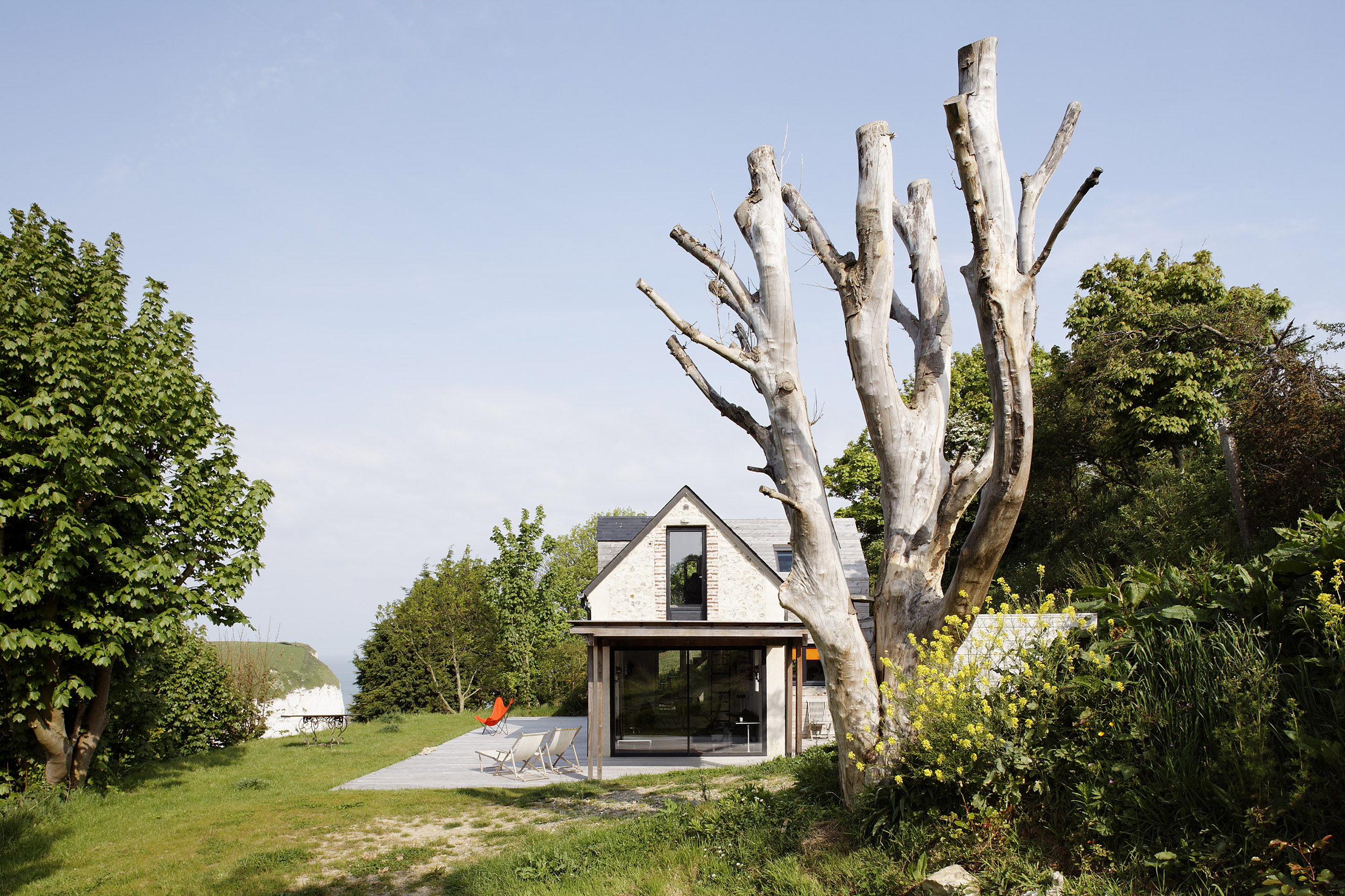FRANKLIN AZZI ARCHITECTURE | MAISON YPORT | Daniel MOULINET
