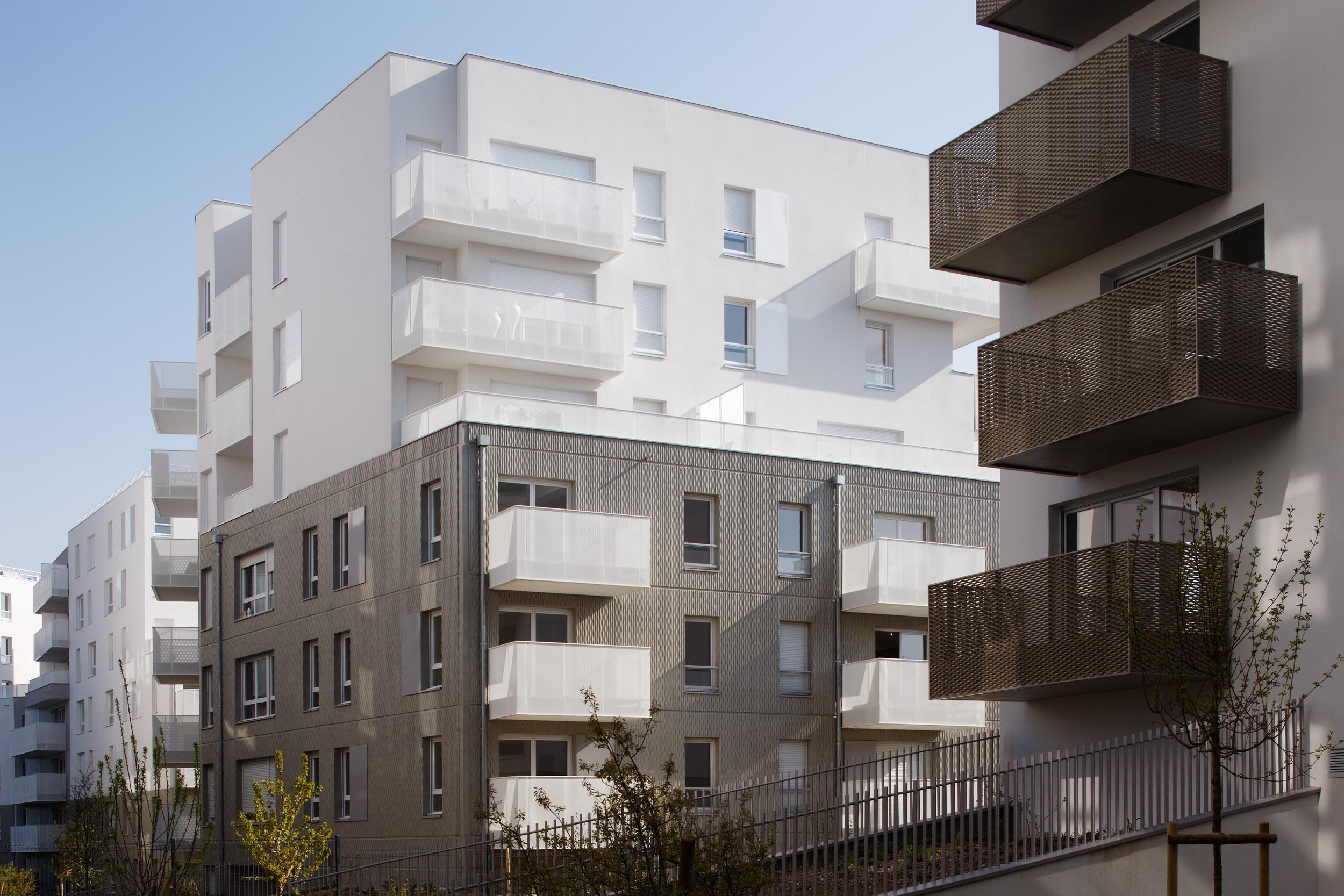 CENCI ET JACQUOT ARCHITECTES / LOGEMENTS CHAMPIGNY-SUR-MARNE | Daniel MOULINET